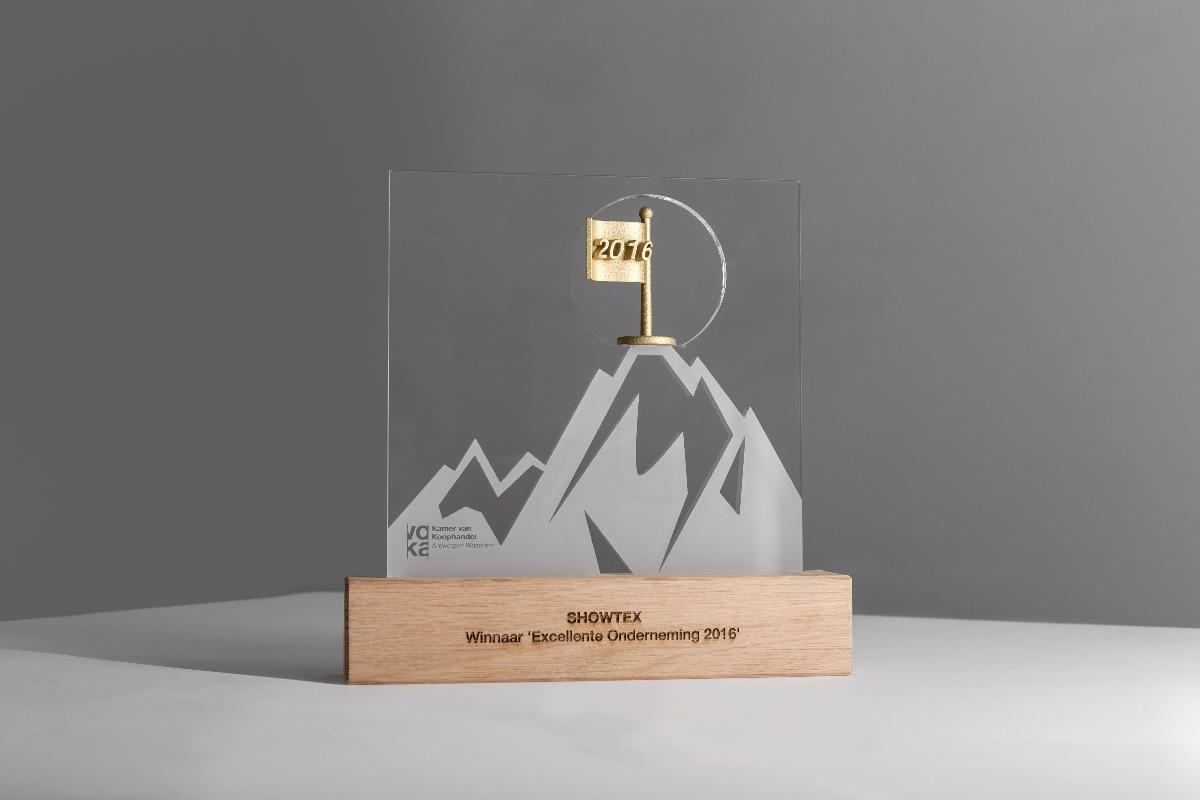 VOKA Excellente onderneming 2016 trophy gold