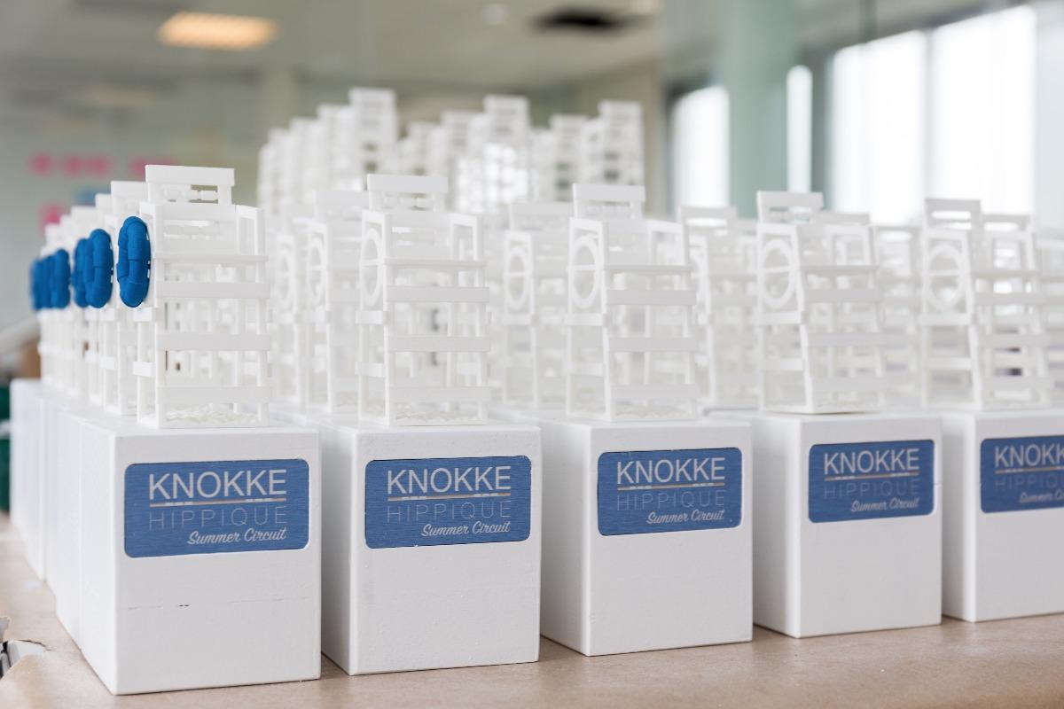 Knokke Hippique 2016 Trophies making of