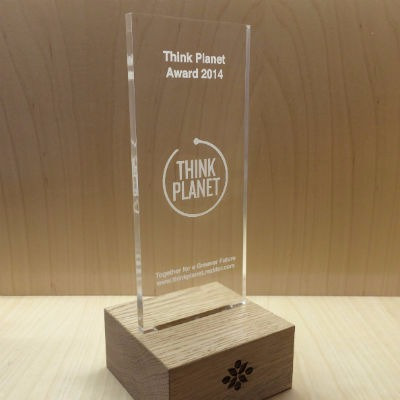 Thinkplanet Trophée