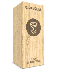 Oak totem_Custom_made_award