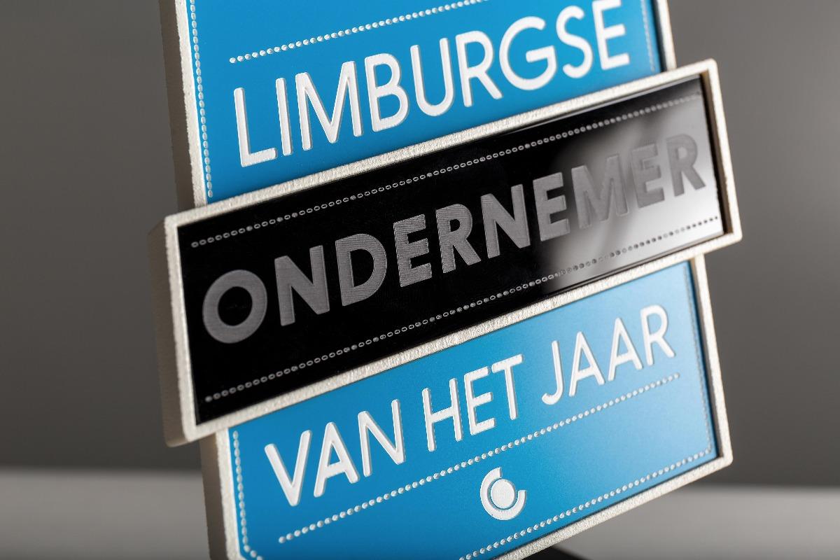 Detail of Limburgse ondernemer van het jaar award
