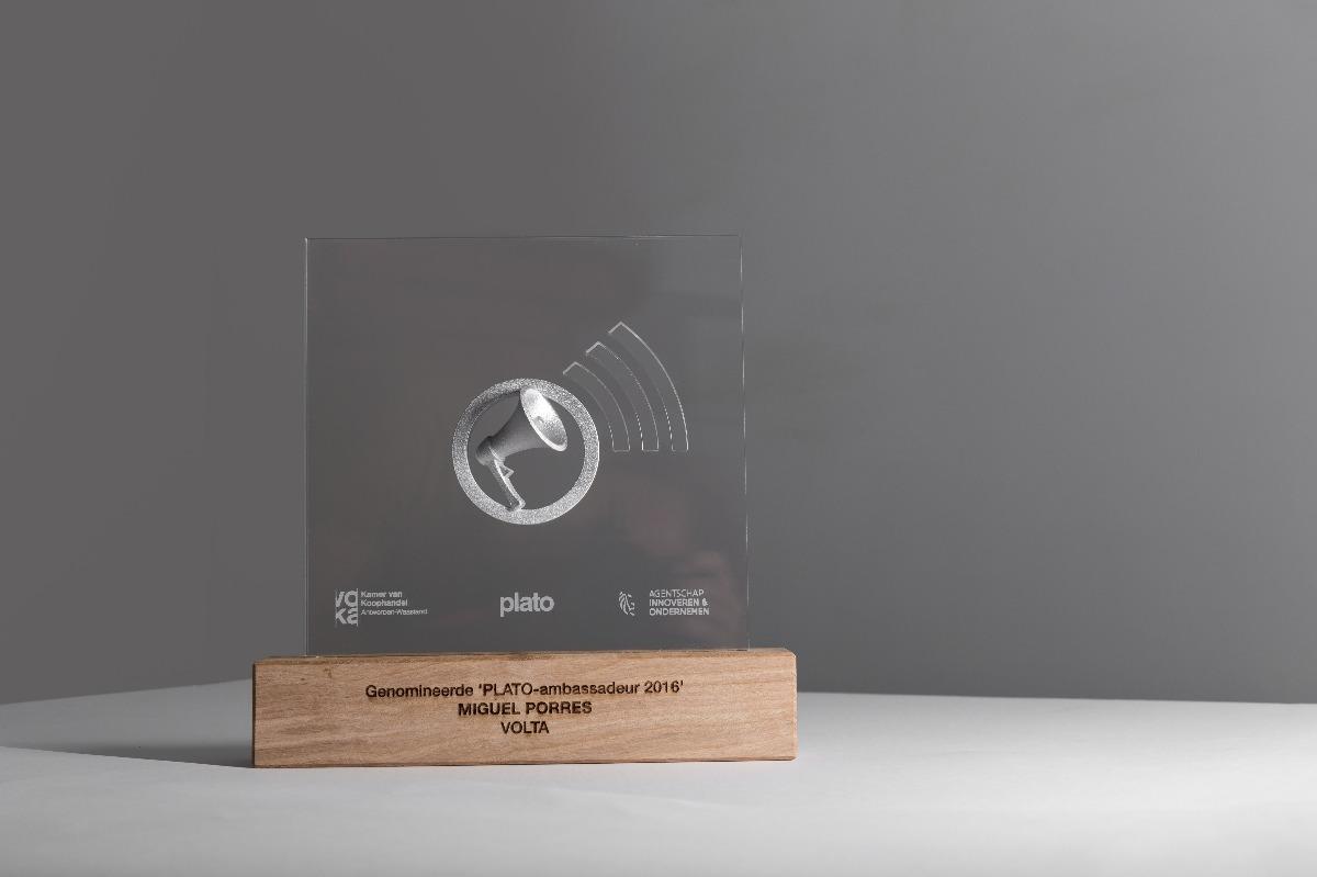 VOKA PLATO-ambasadeur award silver