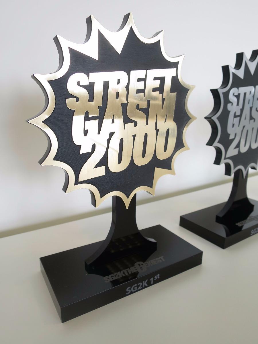 Streetgasm 2000 Award