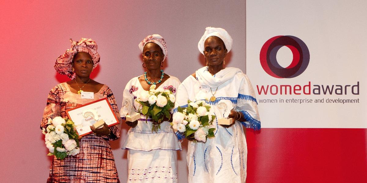 Womed Award ceremony