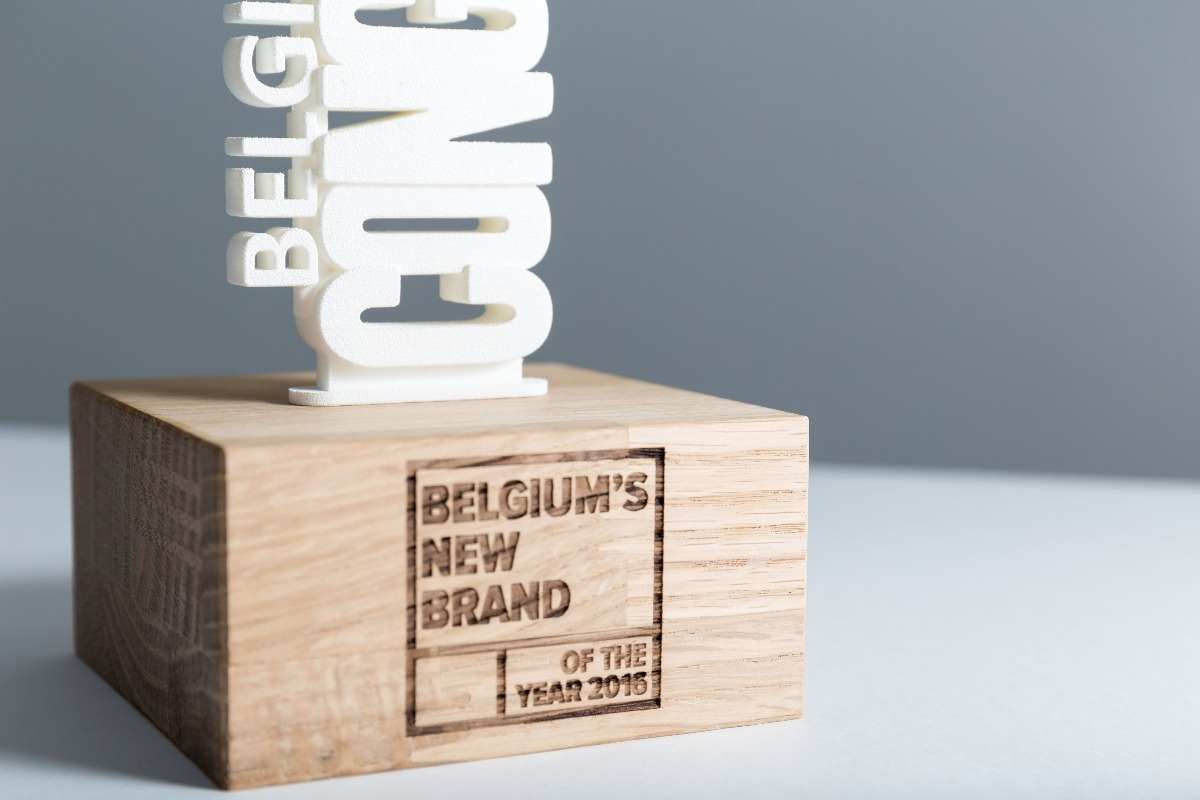Belgium New brand of the year 2016 award detail