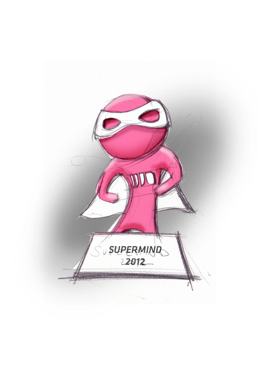 Superminds award sketch
