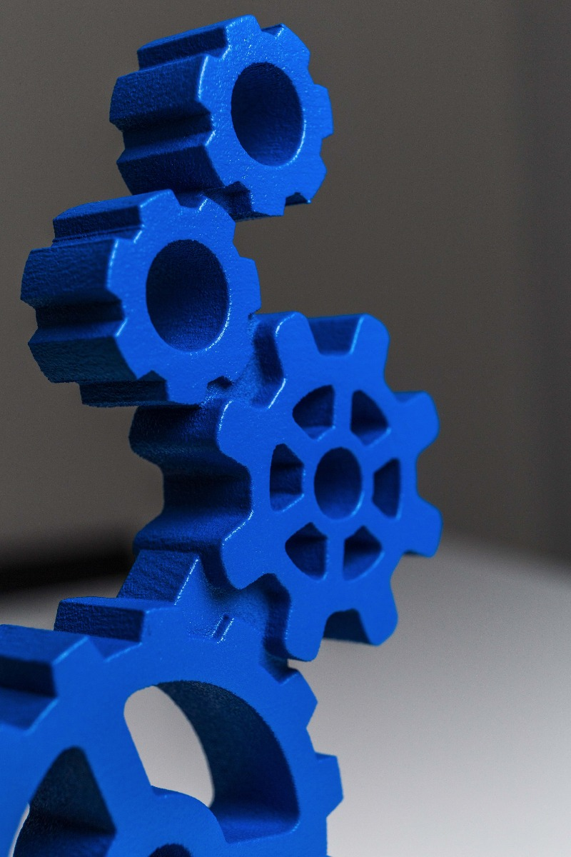 Integrated staffing award detail 3D-print