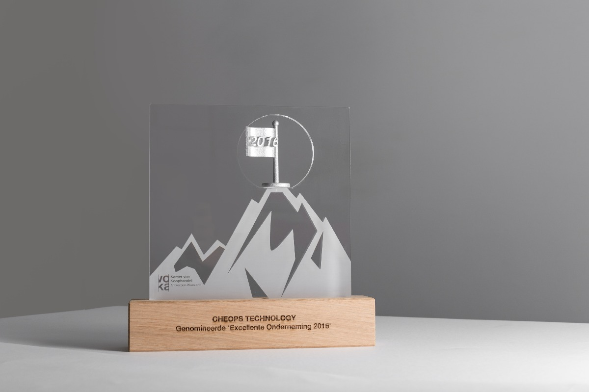 VOKA Excellente onderneming 2016 trophy silver