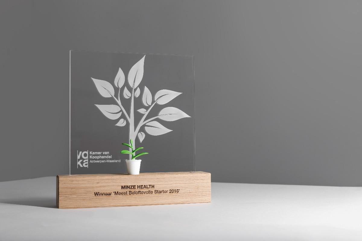 VOKA meest beloftevolle starter 2016 Award