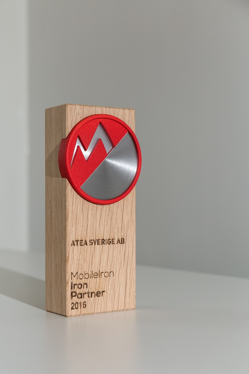 Mobile Iron award