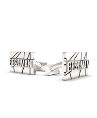 Cufflink Rectangular Scratch