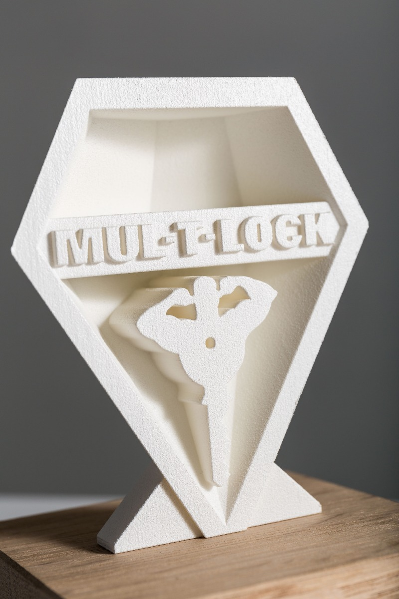 Mul-T-lock award detail 3D-print