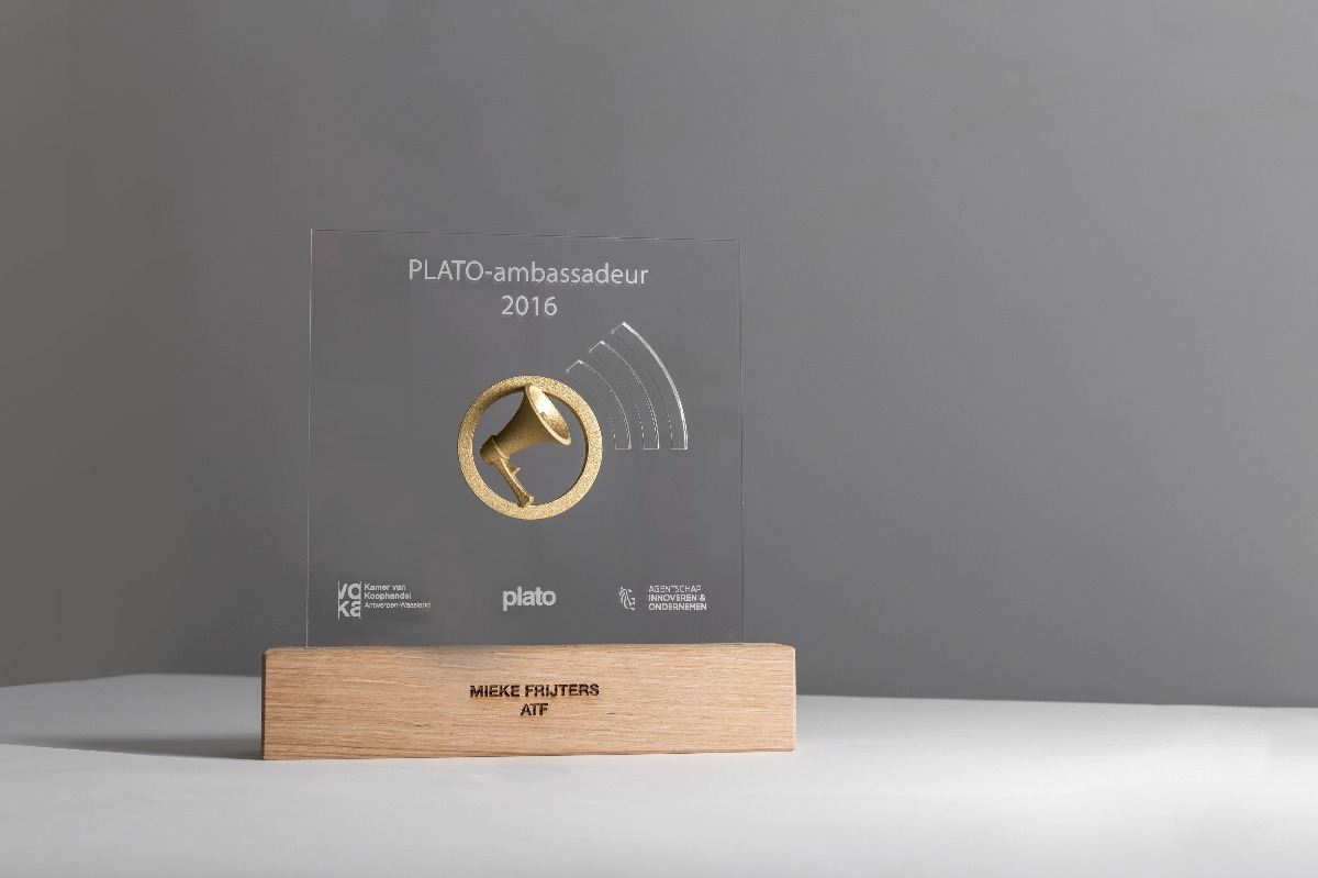 VOKA PLATO-ambasadeur award gold