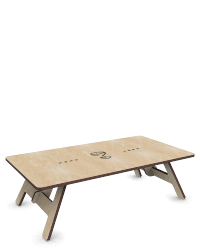 lasergesneden tafel