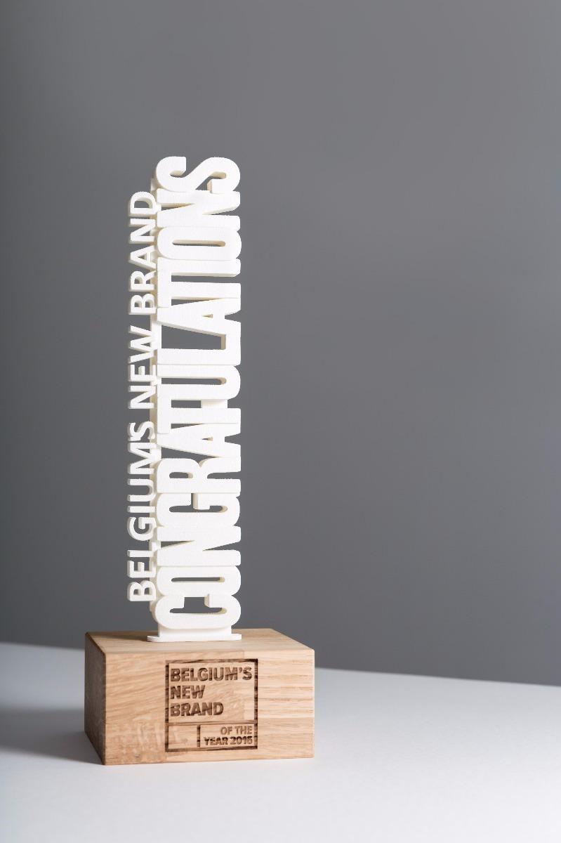 Belgium New brand of the year 2016 award detail