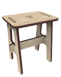 customizable stool or bench