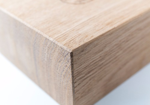 Detail of wooden base