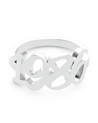 Personalized rings, text rings, name rings