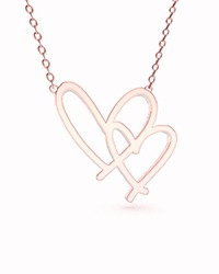 Signature Necklace RoseGold Hearts