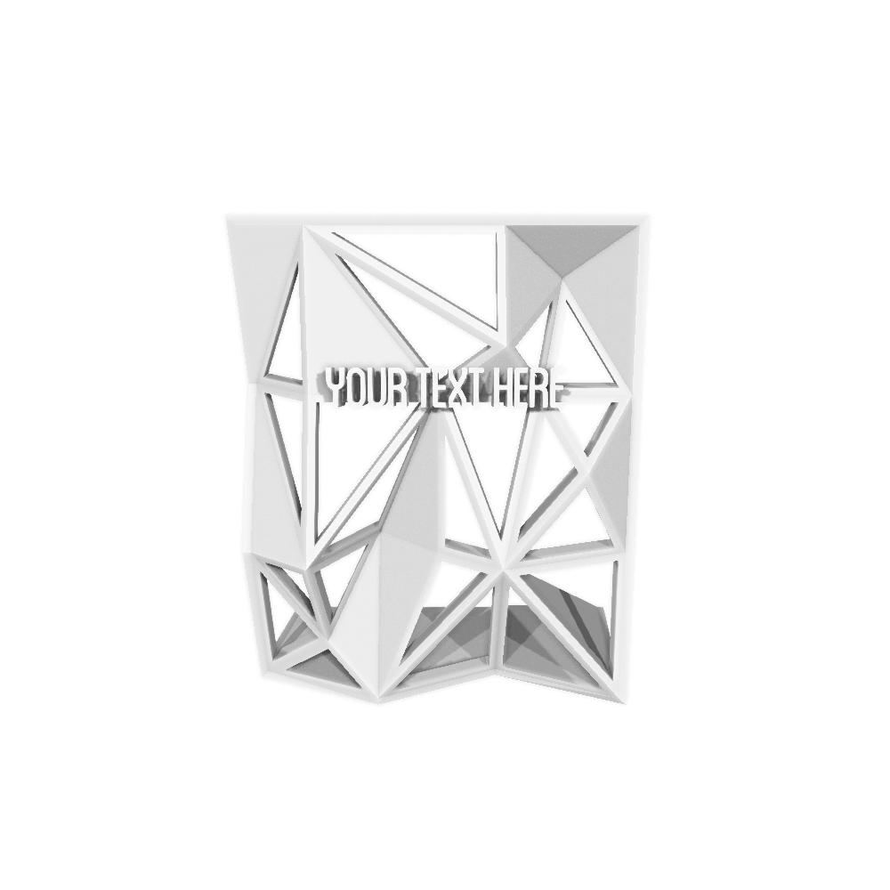 Mesh Stand Award - 3D Trophy Factory